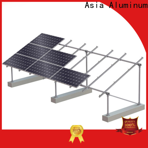 AAG flexible roof solar mounting manufacturer for home