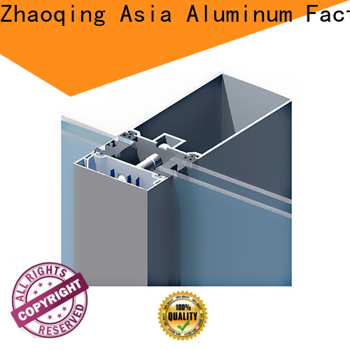 AAG curtain wall frame directly sale for buildings