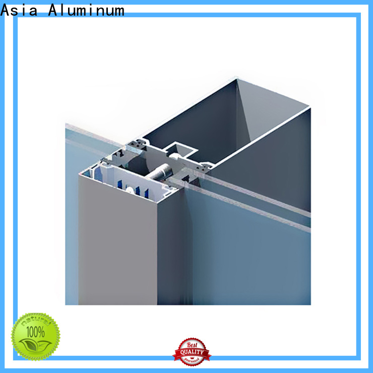 AAG curtain wall frame directly sale for decoration