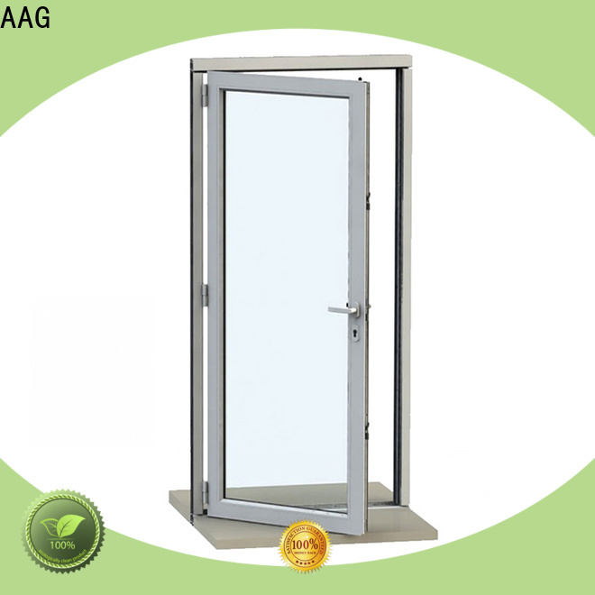 AAG popular aluminium door frame wholesale for buildings