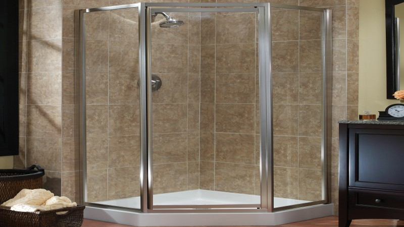 Semi Frameless Shower Enclosures With Shower Screen