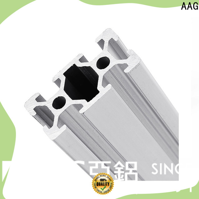 AAG high quality industrial aluminum profile supplier for construction