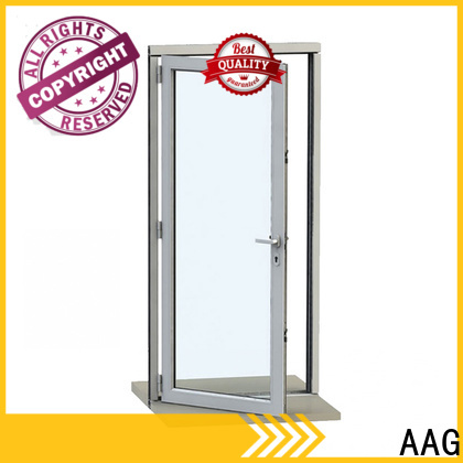 AAG popular aluminium door frame supplier for buildings