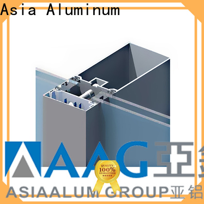 AAG popular curtain wall frame manufacturer for decoration
