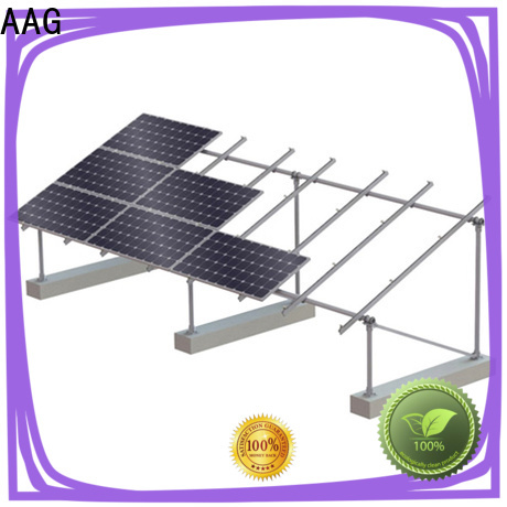 AAG reliable roof solar mounting wholesale for home