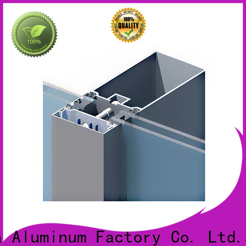 electrophoretic curtain wall frame wholesale for decoration