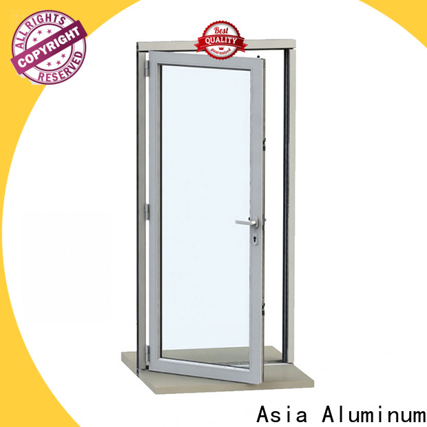 real aluminium door frame wholesale for buildings