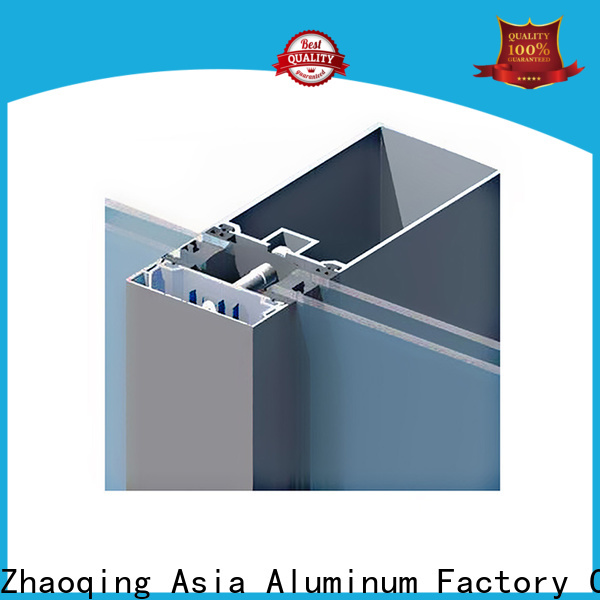 AAG quality curtain wall frame manufacturer for decoration