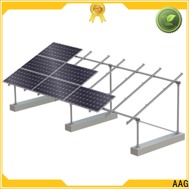 AAG roof solar mounting directly sale for home