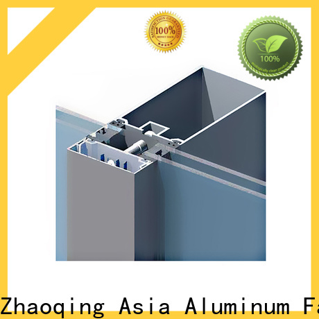 AAG anodized curtain wall frame directly sale for decoration