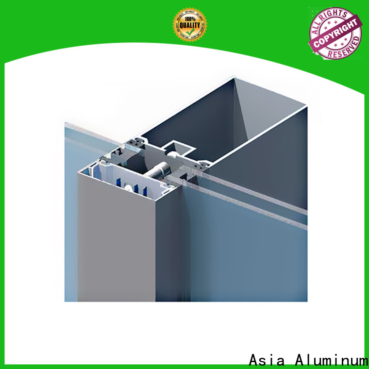electrophoretic curtain wall frame directly sale for decoration