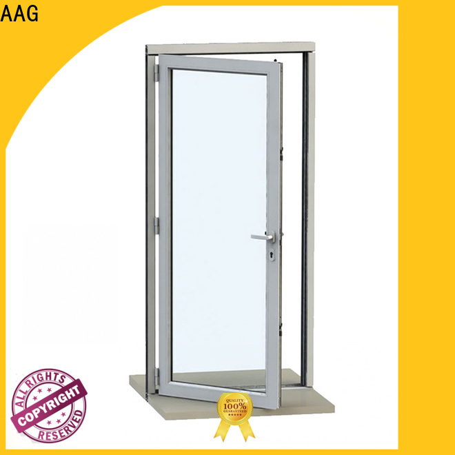 AAG durable aluminium door frame directly sale for buildings
