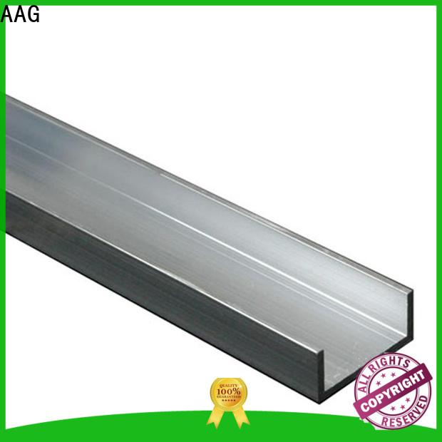 AAG simple fashion aluminium profile section direct sale for machine