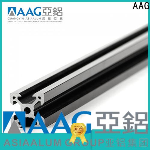AAG configurable t slot aluminium profile big discount for frame