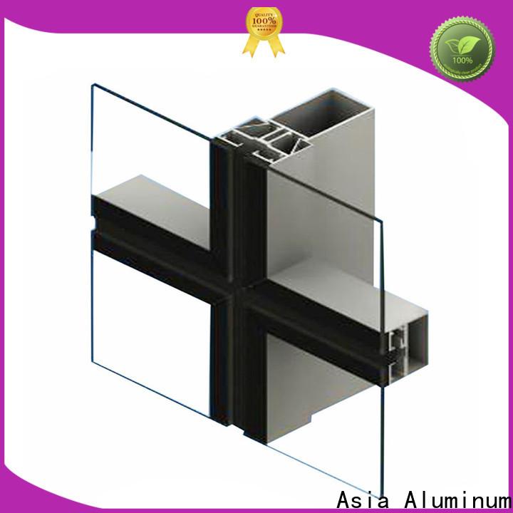 AAG aluminium construction profiles good performance for hotel