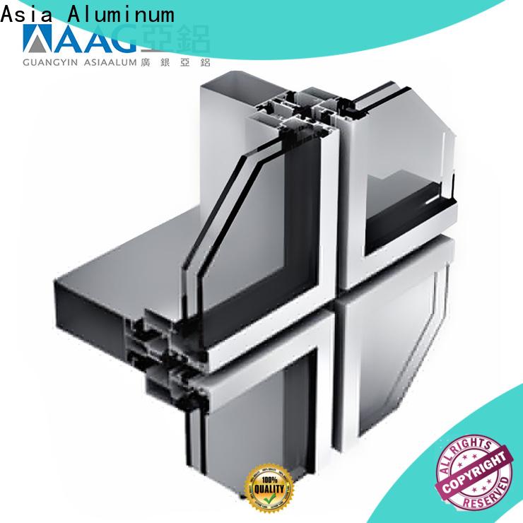 AAG safety design profilés aluminium good performance for hotel