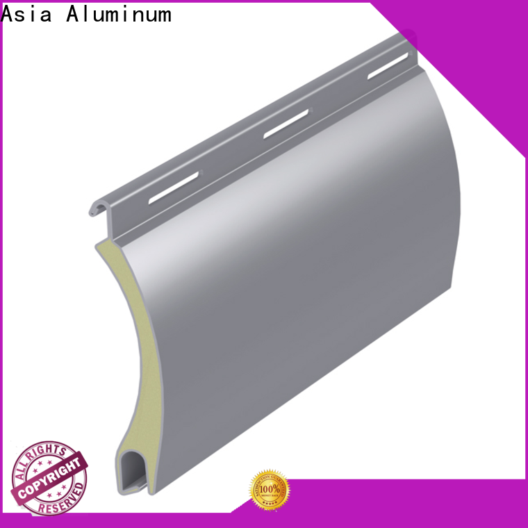 AAG professional extruded aluminium profiles discount for commercial buiding
