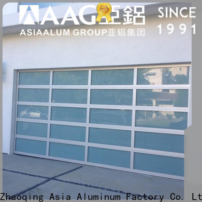 AAG top aluminum window high demand for garage