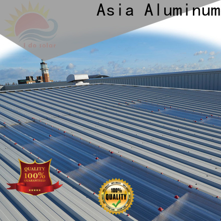 AAG high quality solar system full certificates for flat roof