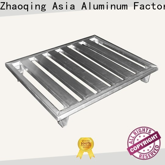 AAG low cost aluminum pallets metal for load