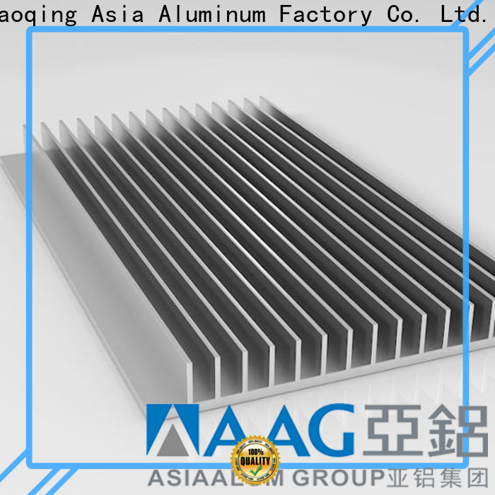 AAG high power round extruded aluminum heatsink customize for cpu