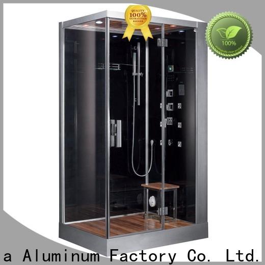 different shape aluminum shower frame big discount for hotel