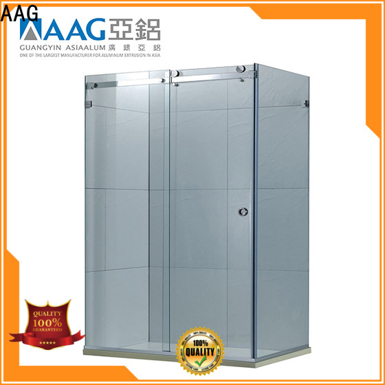 AAG top quality aluminum shower frame big discount for screen