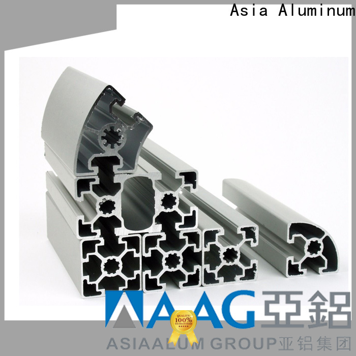 factory direct aluminum box tubing leading group for pipe