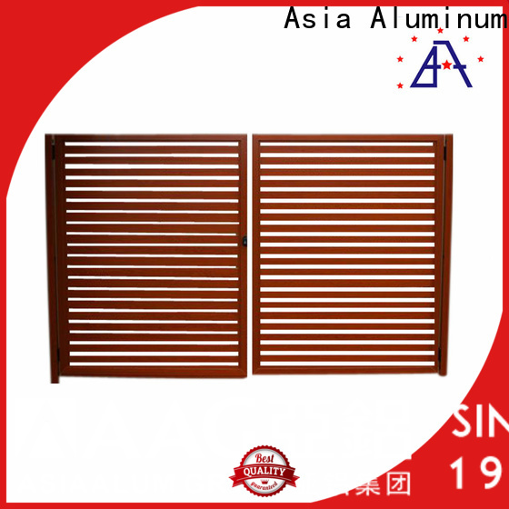 AAG black aluminum fence low cost for balcony
