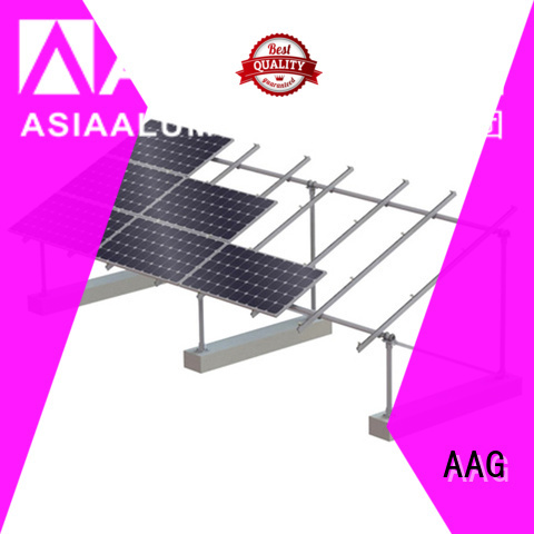 AAG cost-effective roof solar mounting wholesale for solar power system