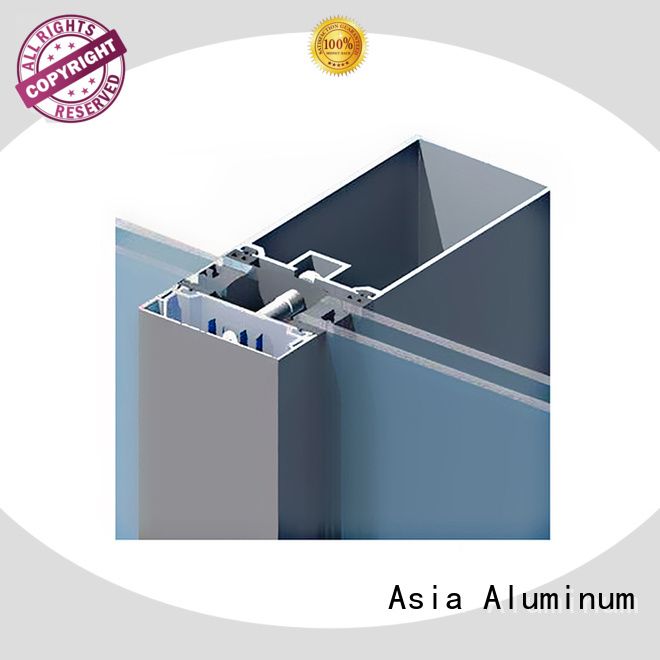 anodized curtain wall frame wholesale for decoration