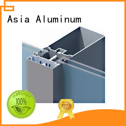 AAG stable curtain wall frame directly sale for buildings