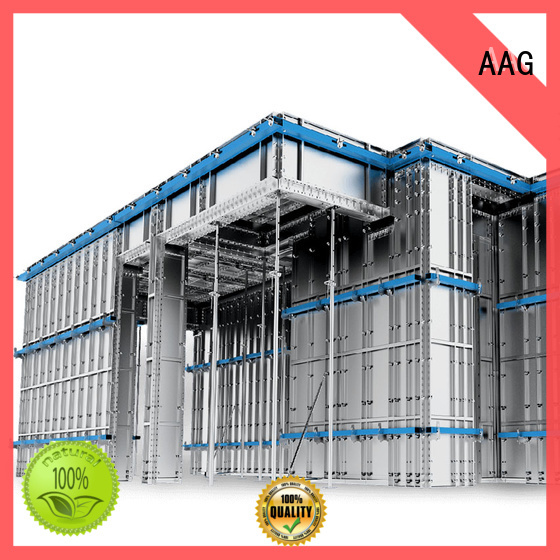 AAG aluminum formwork manufacturer for buildings