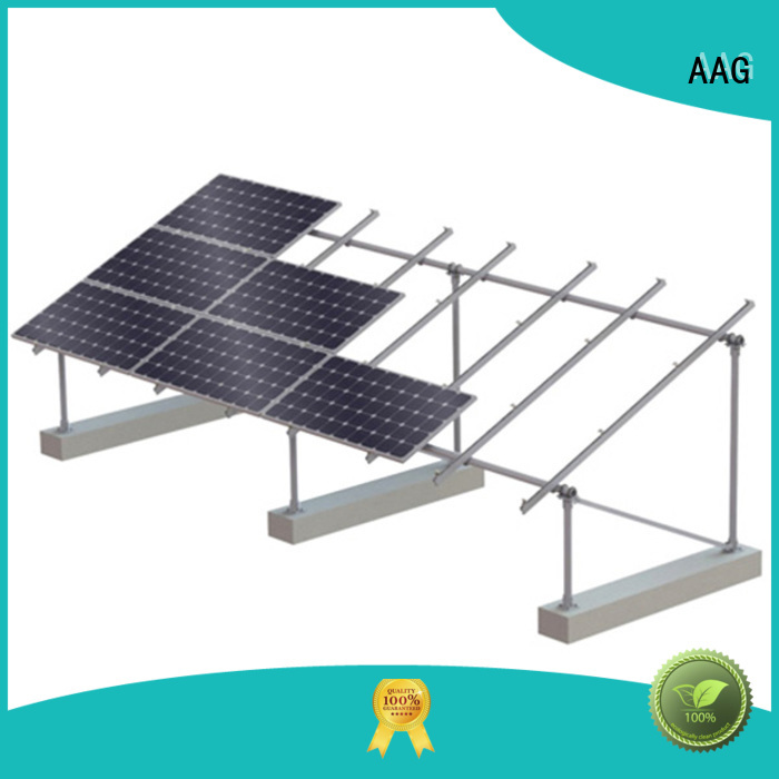 AAG cost-effective roof solar mounting manufacturer for solar power system