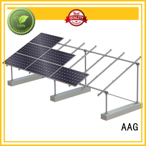 AAG roof solar mounting supplier for solar power system