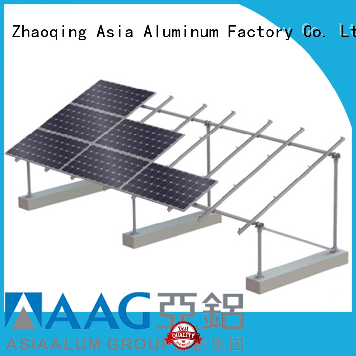 AAG flexible roof solar mounting wholesale for solar power system
