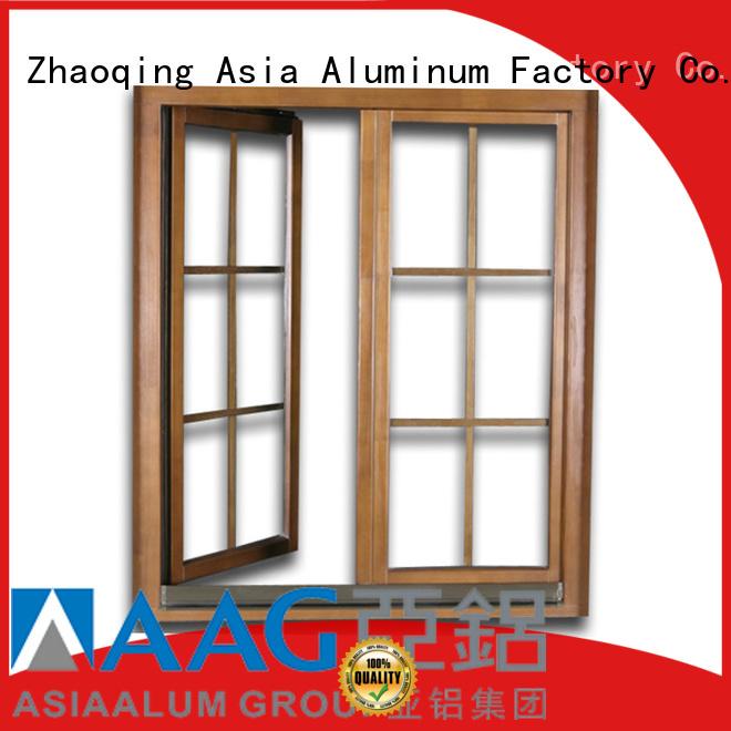 AAG aluminium window frames customization for sliding door