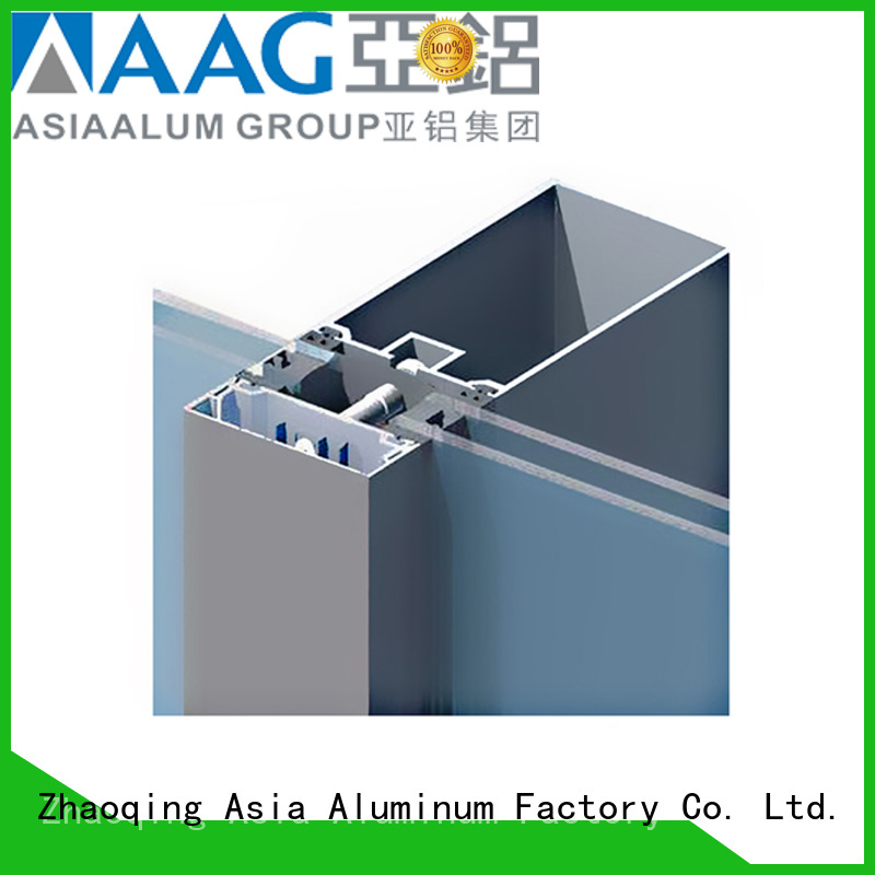 AAG popular curtain wall frame wholesale for decoration