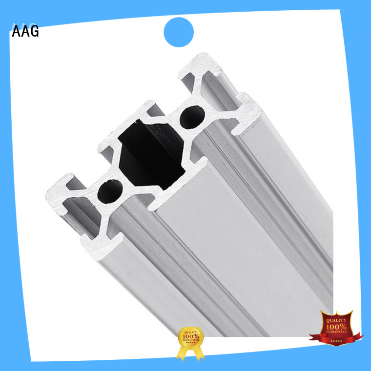 AAG stable industrial aluminum profile customization for industrial automation equipment