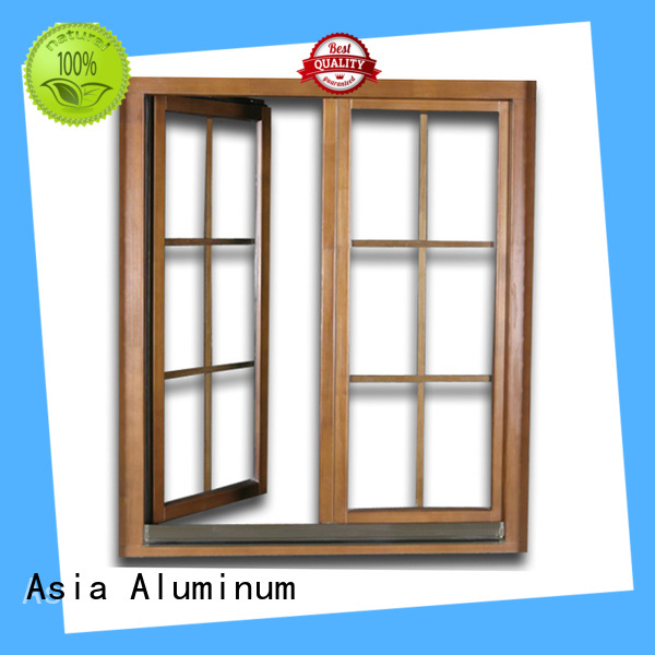 AAG durable aluminium window frames customization for walls