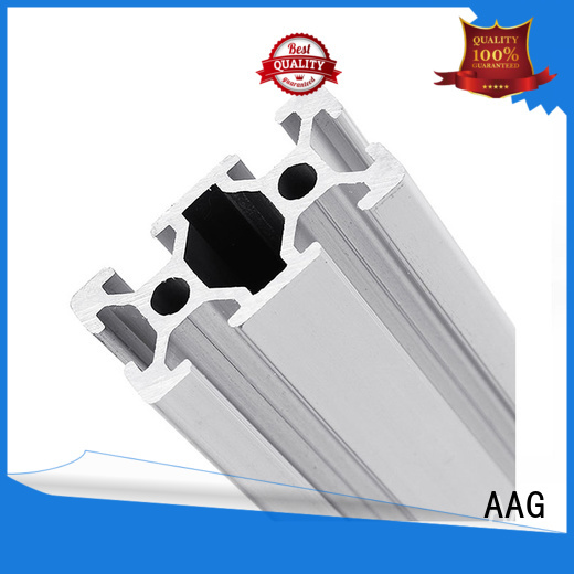 AAG industrial aluminum profile wholesale for machinery manufacturing