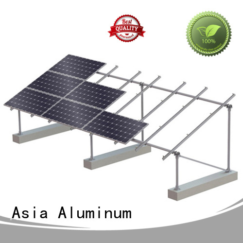 AAG roof solar mounting manufacturer for solar power system
