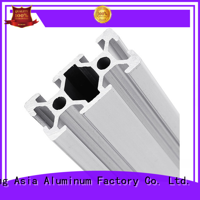 AAG light weight industrial aluminum profile supplier for machinery manufacturing