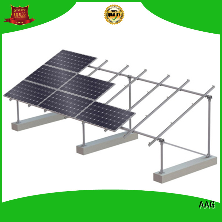 AAG roof solar mounting supplier for home