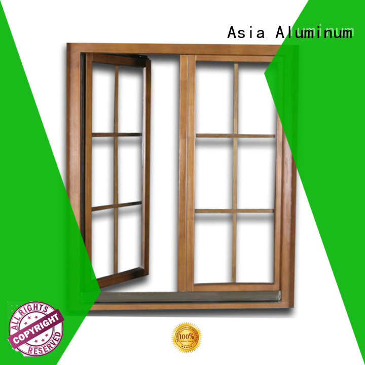 popular aluminium window frames supplier for walls
