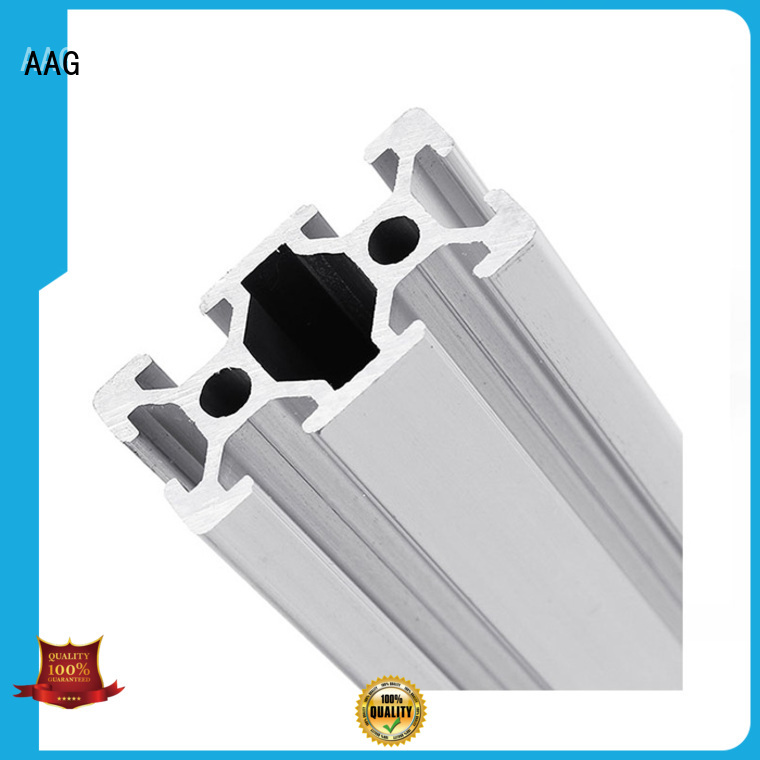 AAG industrial aluminum profile manufacturer for machinery manufacturing