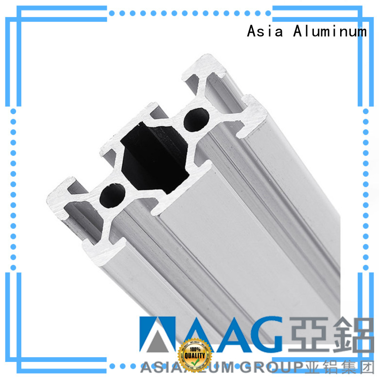 AAG high quality industrial aluminum profile manufacturer for industrial automation equipment