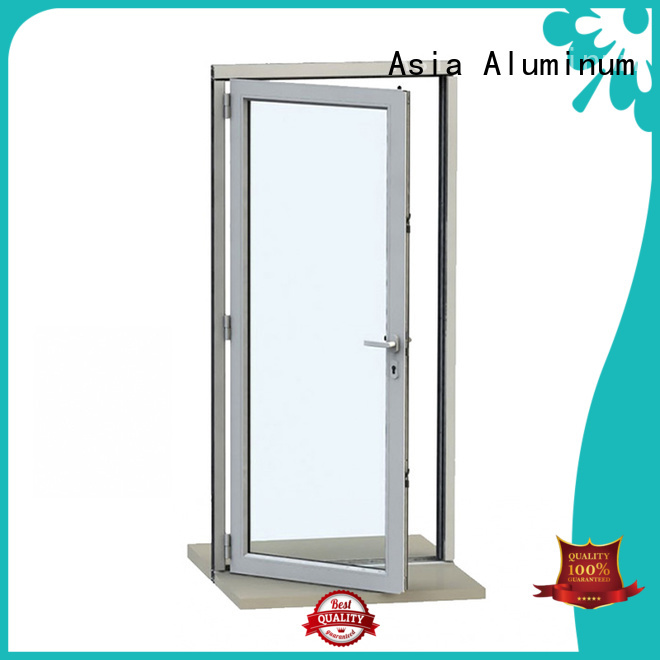 real aluminium door frame supplier for kitchen