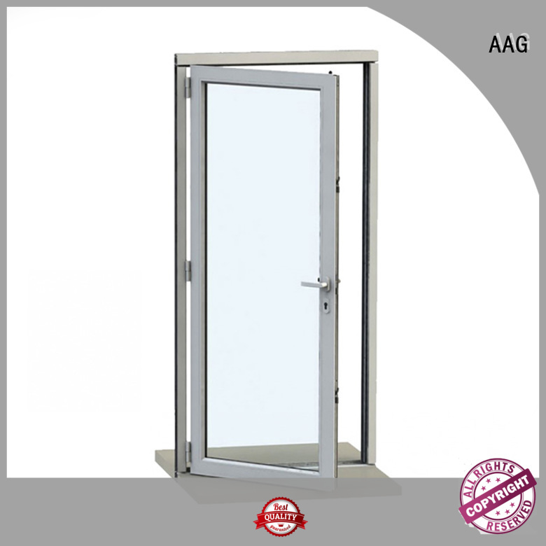 AAG real aluminium door frame wholesale for buildings