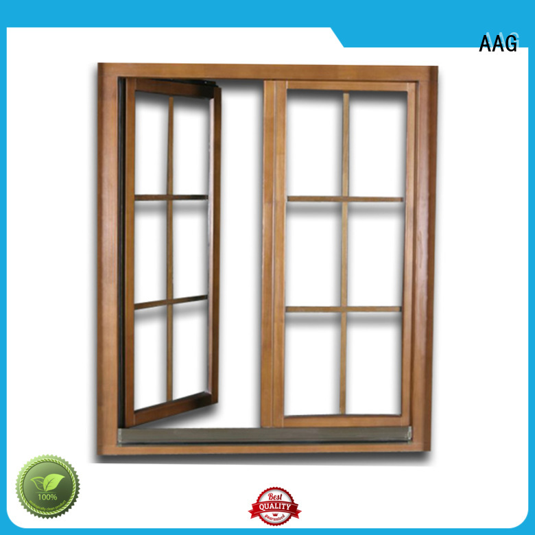 AAG aluminium window frames supplier for window